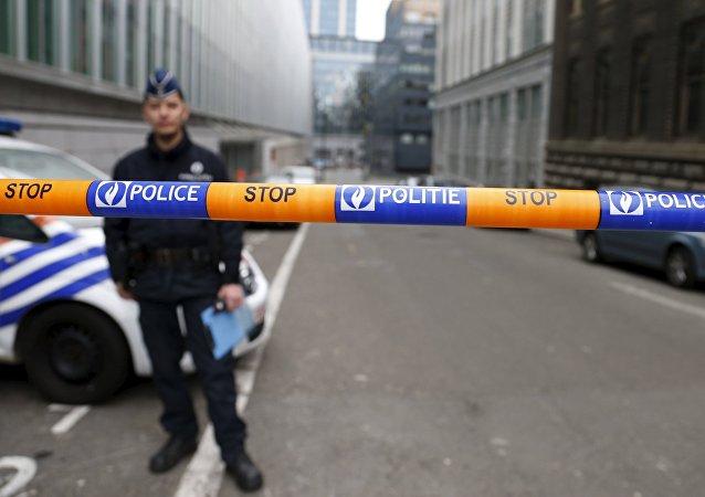 Policía en Bruselas (archivo)