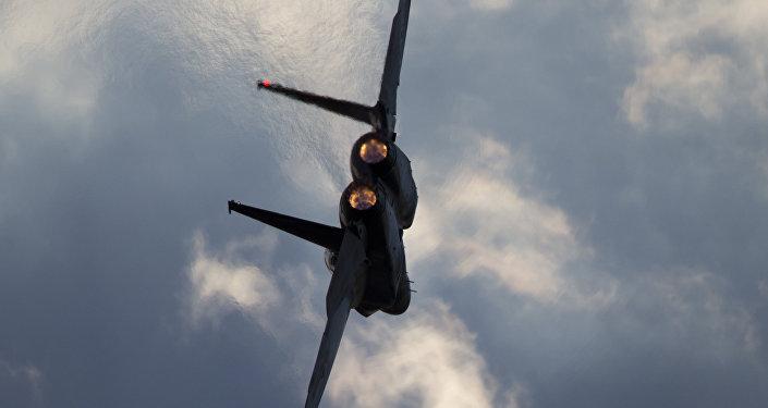 Caza F-15 (Archivo)
