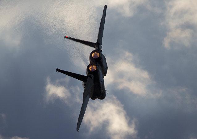 F-15 de las Fuerzas Aéreas de Israel