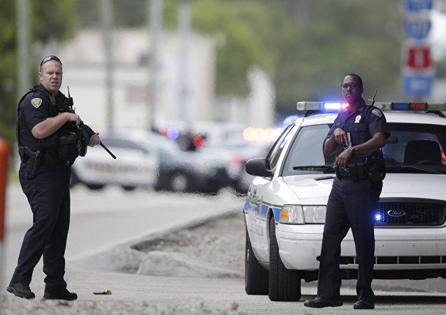 Oficiales de la Policía de EEUU (archivo)