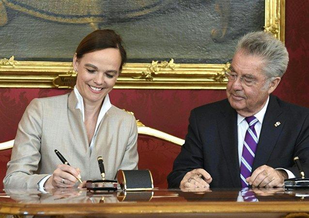 Sonja Hammerschmid, ministra de Educación de Austria