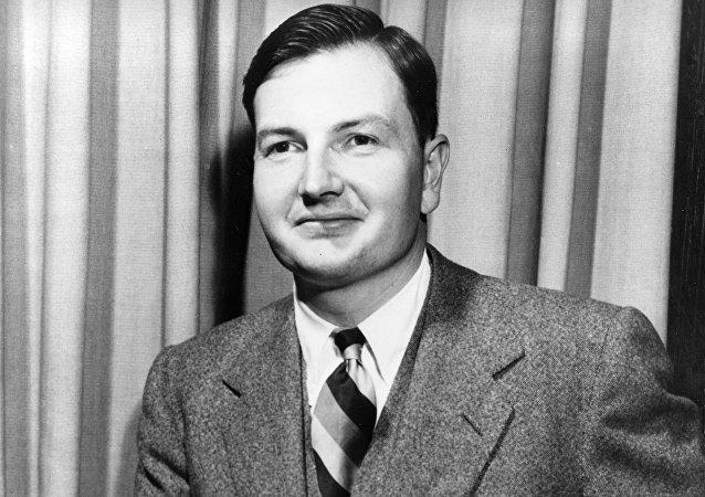 David Rockefeller, multimillonario norteamericano (archivo)