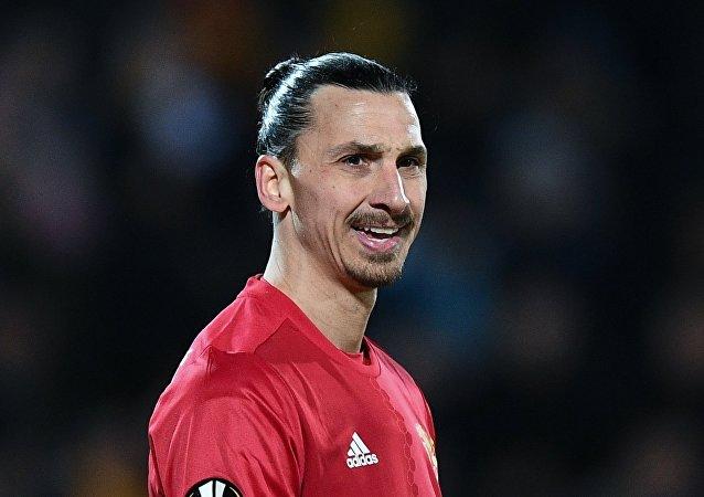 Zlatan Ibrahimovic, jugador del Manchester United