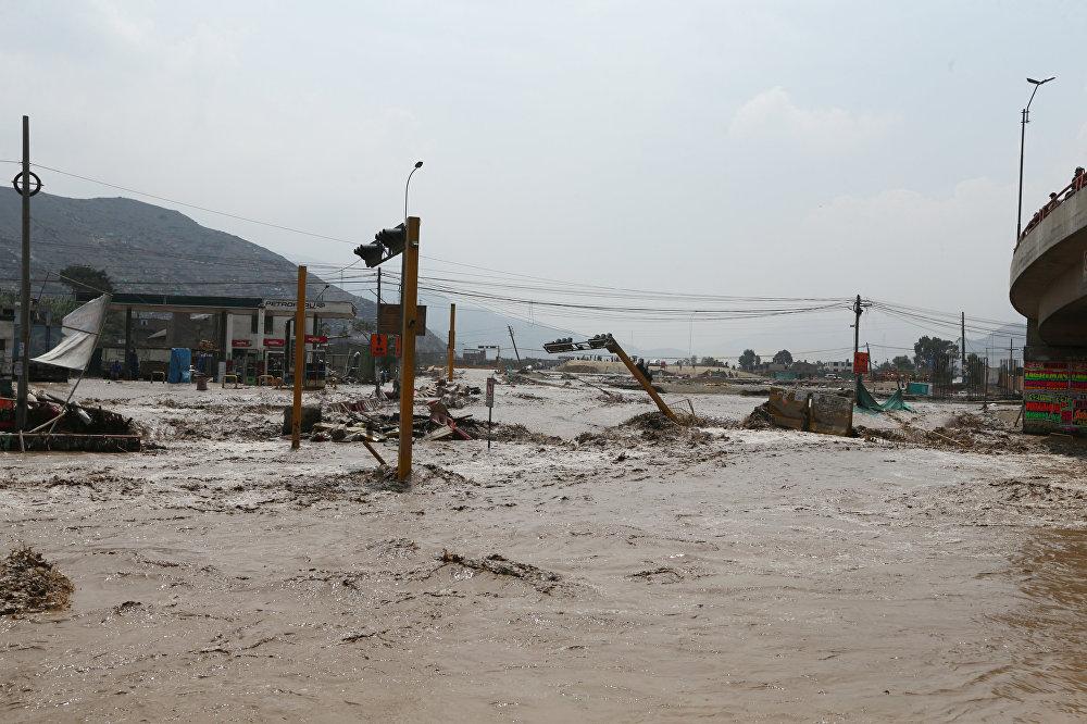 Las terribles consecuencias de las lluvias torrenciales en Perú