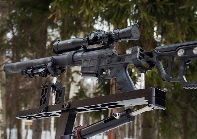 Un fusil de alta precisión Lobaev (archivo)