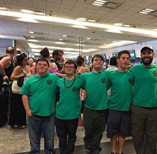 Cuatro jóvenes con síndrome de Down fundaron un servicio de catering en Argentina