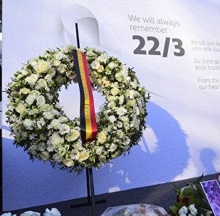 Bruselas rinde homenaje a las víctimas de los atentados