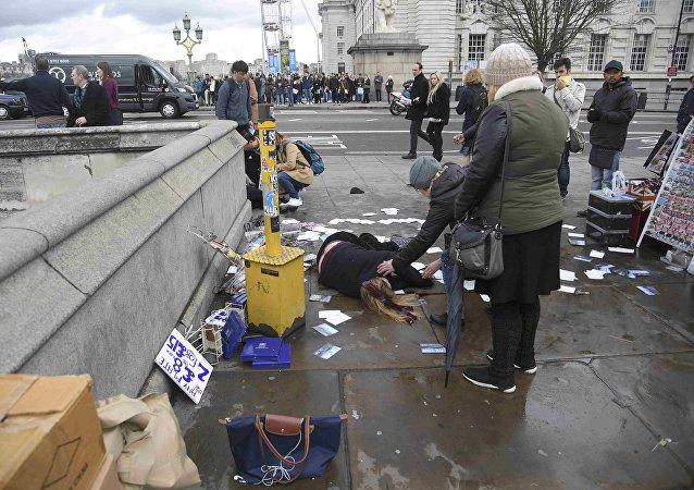 Un tiroteo se produce frente al Parlamento británico