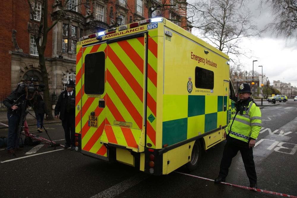 Las imágenes más impactantes del ataque terrorista en Londres