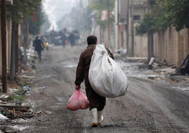 Situación en Mosul (archivo)