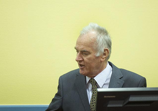 Ratko Mladic, comandante del Ejército serbobosnio
