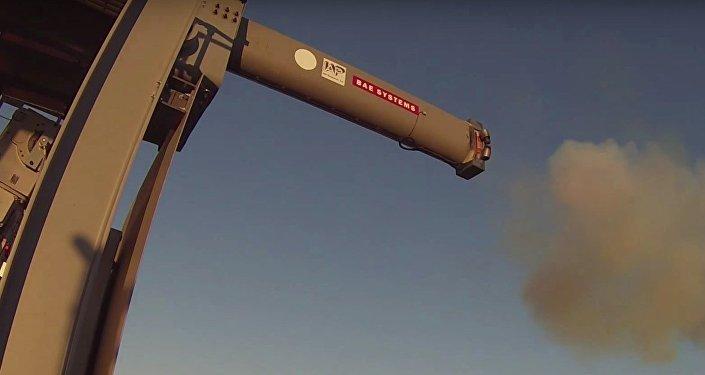 Vídeo: la Armada de EEUU prueba un potente cañón de riel eléctrico