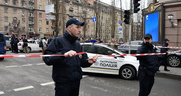 Lugar del asesinato del exdiputado ruso Voronénkov