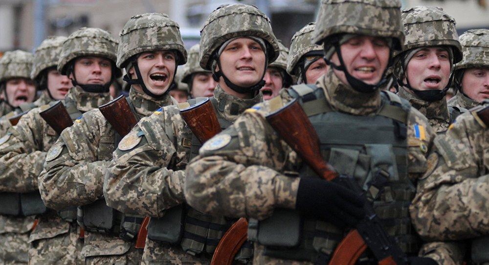 Los soldados de las Fuerzas Armadas de Ucrania (archivo)