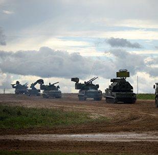 La maquinaria militar rusa (archivo)