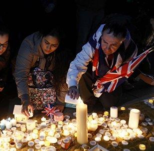 Homenaje a las víctimas del atentado en Londres