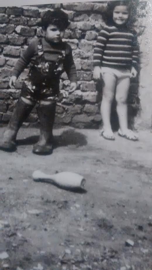 La abogada e hija de desaparecidos Yamila Zavala Rodríguez de niña