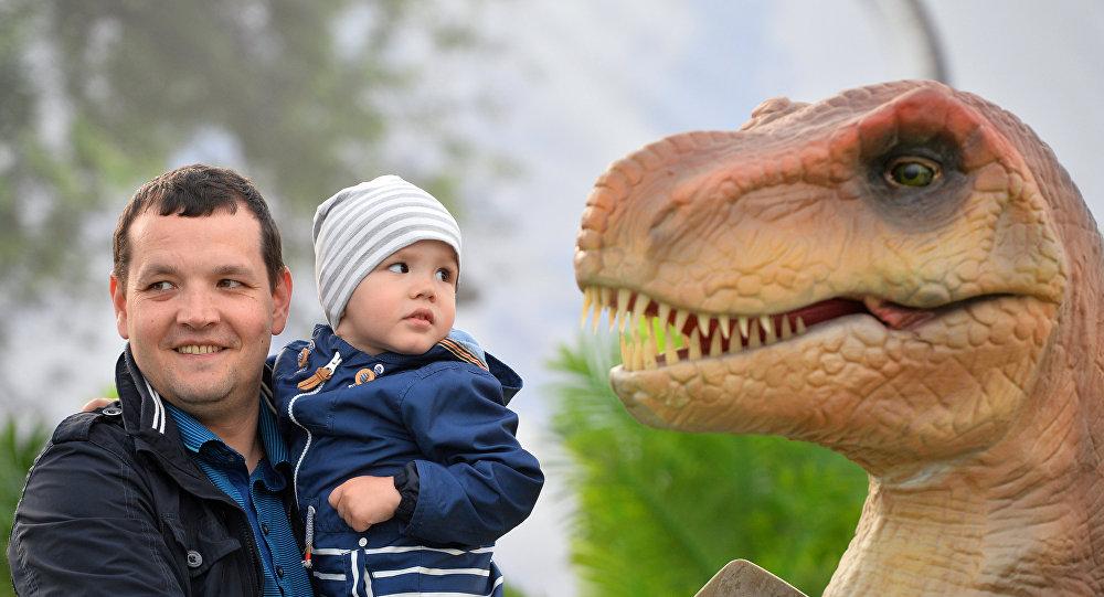 Dinosaurio en Kazán