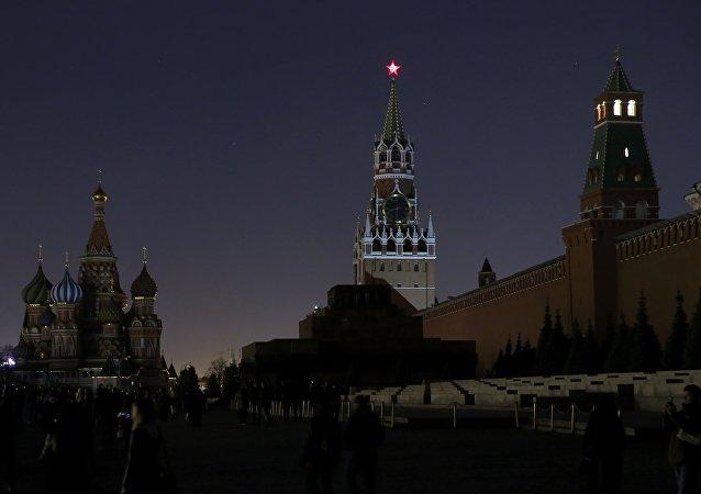La Hora del Planeta en Moscú