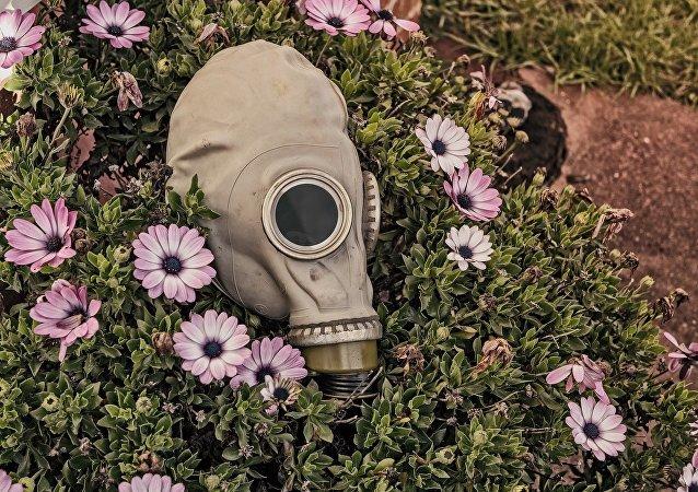 Máscara antigás