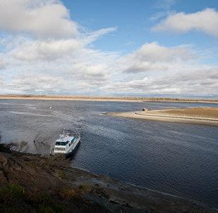Río Obi, Rusia