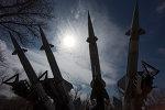 Sistema de misiles tierra-aire S-125 (archivo)