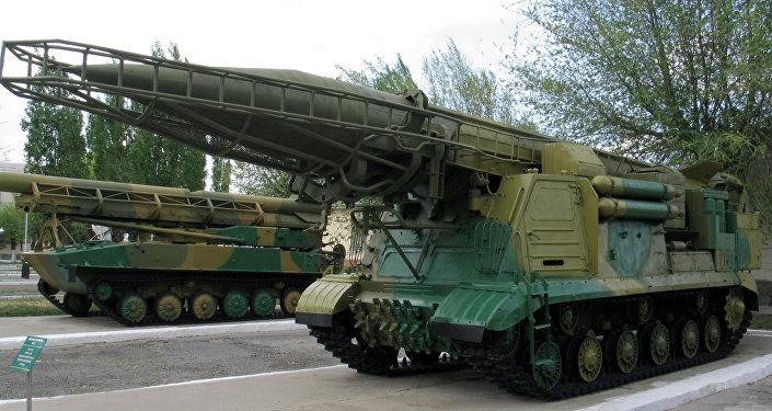 El misil soviético Scud