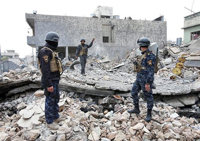 La policía iraquí (imagen referencial)