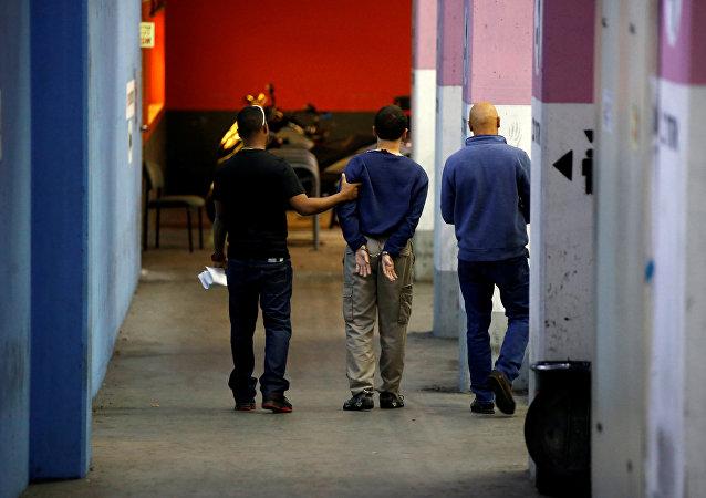 El joven americano-israelí arrestado