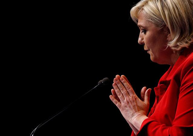 Marine Le Pen, la líder del Frente Nacional