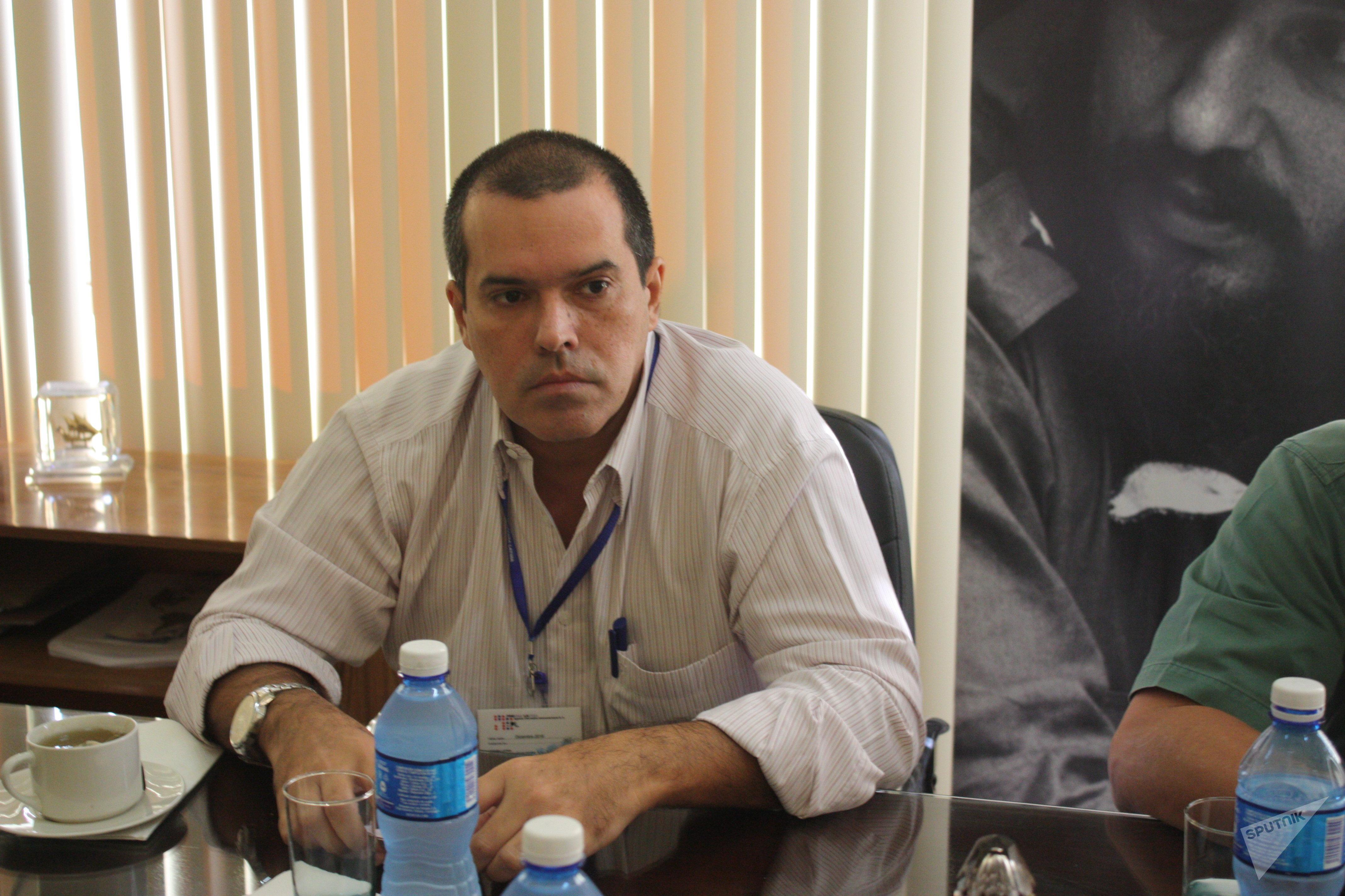 Luis Enrique González Acosta, presidente de Prensa Latina