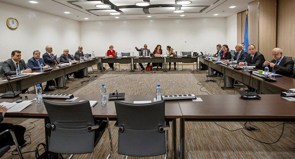 Las negociaciones sobre Siria en Ginebra (archivo)