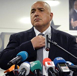 Boiko Borísov, líder del partido GERB