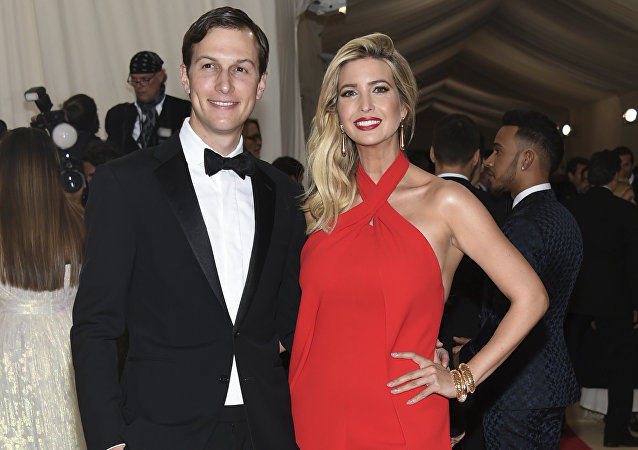 Ivanka Trump y Jared Kushner (archivo)
