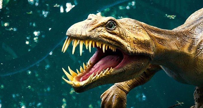 Un dinosaurio (archivo)