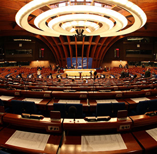 Asamblea Parlamentaria del Consejo de Europa (PACE) en Estrasburgo