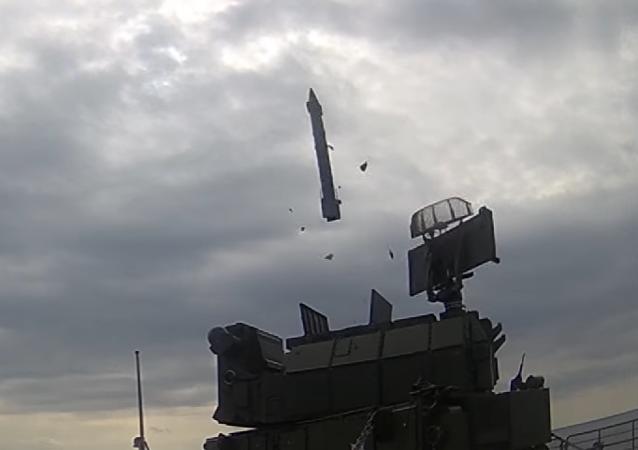 Estrenan imágenes de las pruebas del sistema antiaéreo Tor
