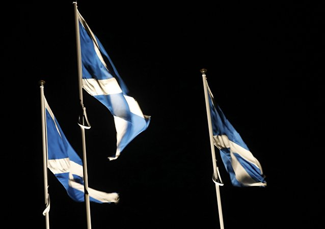 Las banderas de Escocia