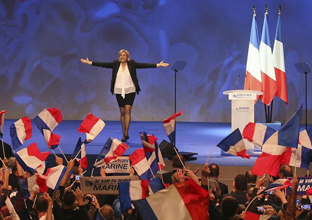 Marine Le Pen (archivo)