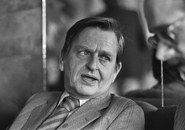 Olof Palme, exprimer ministro sueco