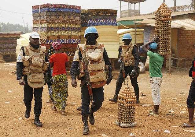 Pacificadores de la ONU en el Congo