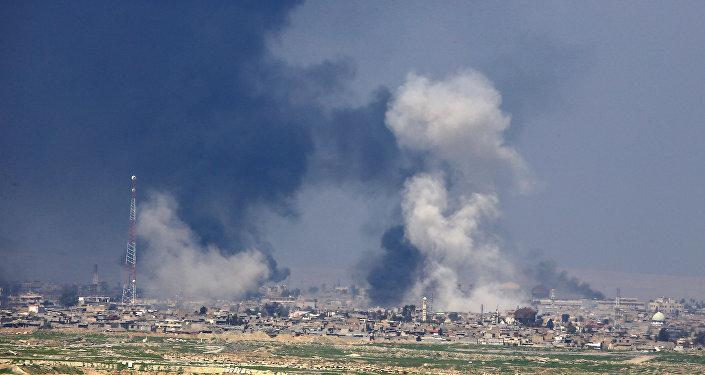 Situación en la ciudad iraquí de Mosul
