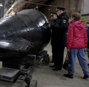 La 14ª división de los submarinos de la Flota del Mar Negro cumple años