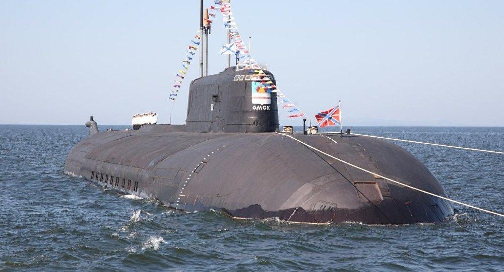 Submarino nuclear Omsk de proyecto 949A Antéi