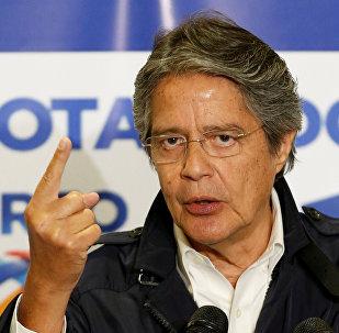 Guillermo Lasso, candidato presidencial de CREO