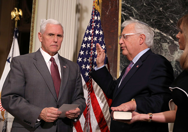 David Friedman presta juramento como embajador de EEUU en Israel