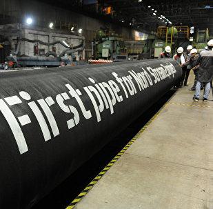 Tuberías para el gasoducto Nord Stream 2