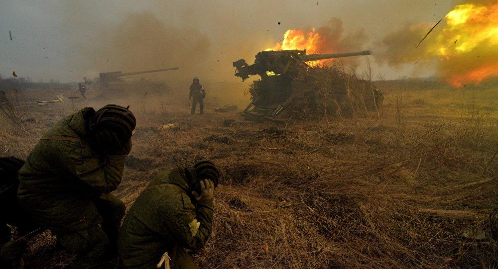La artillería terrestre de Rusia (archivo)