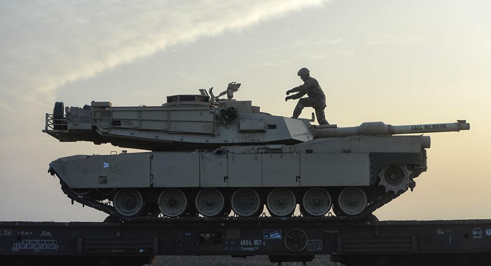 Tanque de la OTAN (archivo)