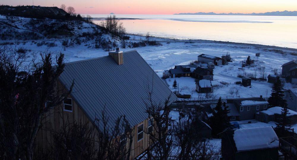 Una villa de origen ruso en Alaska